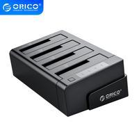 ORICO 6648US3-C USB 3.0 2.5 e 3.5 pollici SATA Hard Drive Dock 4-Bay Off-line Clone hdd Docking Station-Nero