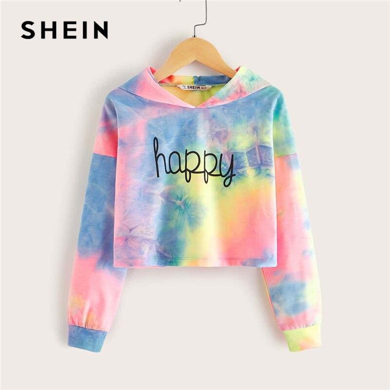 SHEIN Kiddie Multicolor Letter…
