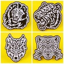 Cool Animal Lion Enamel Pin Pattern Metal Badges Pins Brooches for Women Men Lapel pin Creative Gift backpack bag jacket badge