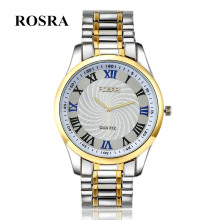 Luxury Brand Rosra Watches Men Stainless Steel Mens Watch Quartz Cheap relogio masculino