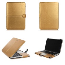 PU leather notebook Laptop Cover For Apple MacBook Case Air 13 Pro Air Retina 11 12 13 15 Mac Book 15.4 13.3 inch sleeve