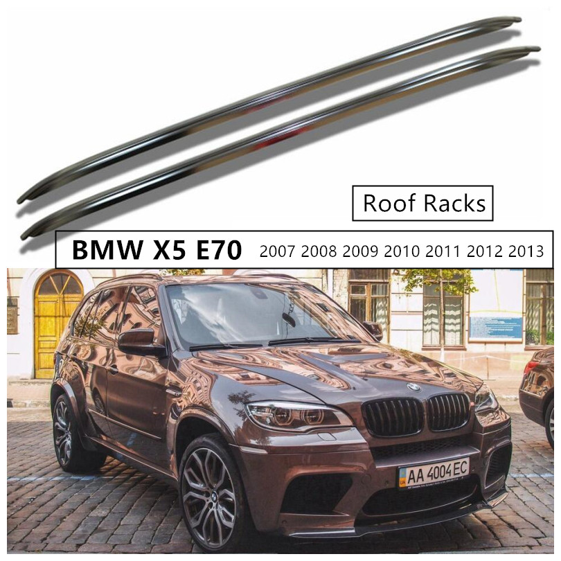 Roof Racks Luggage Rack Bar For BMW X5 E70 2007 2013 High Quality Aluminium Alloy Car Modification Accessories|Roof Racks & Boxes| |  - title=