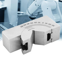 Angle Gauge Blocks With 1 Wrench High Precision Mini Adjustable Angle Gauge V Block Milling Machines Lathe 0 Degree To 60 Degree