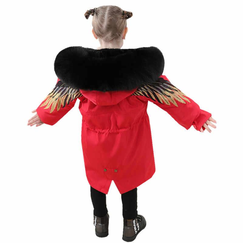 เด็กขนสัตว์หญิงสวมใส่ชาย real Rex กระต่ายขนเสื้อเด็กยาวส่วนเอาชนะหนาฤดูหนาวหนาเสื้อเด็กเสื้อ