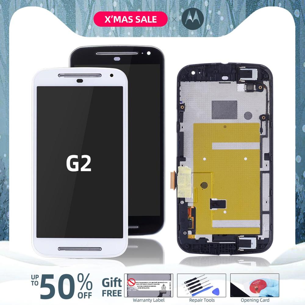 <font><b>Display</b></font> For Moto G2 <font><b>Display</b></font> Touch Screen Digitizer Assembly For <font><b>Motorola</b></font> Moto G2 LCD <font><b>XT1068</b></font> Replacement Parts image