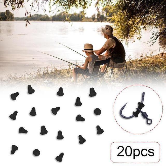 20 шт резиновые наконечники для ловли карпа рыболовные снасти