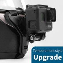 Full Face Motorcycle Helmet Chin Mount Holder Stand for GoPro Hero 8 7 6 5 SJCAM Xiaomi yi 4k Eken SJ6 mijia Camera Accessories экшн камера sjcam sj6 legend розовый