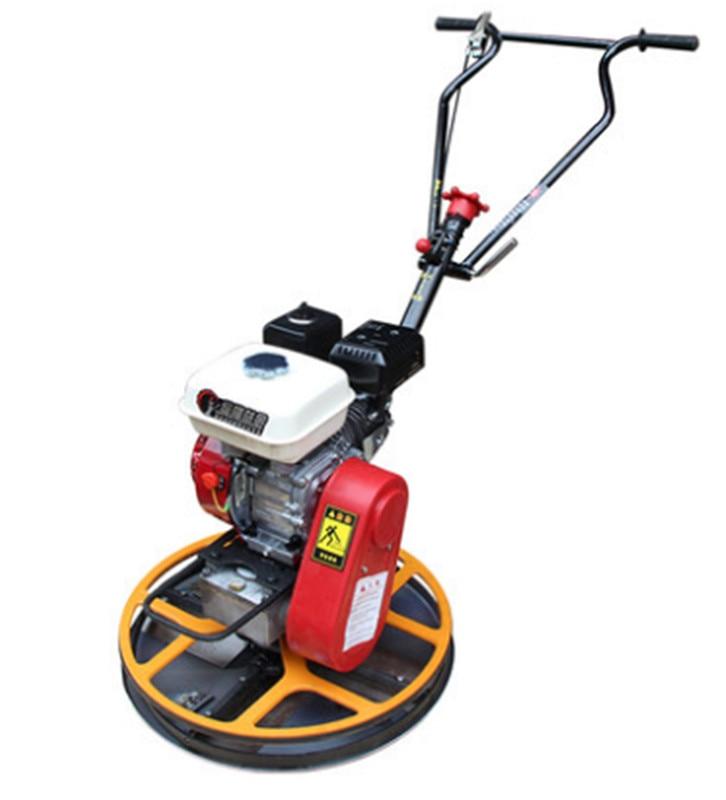 60 Type Concrete Floor Grinding Trowel Machine Gasoline Edger Edging Polisher Concrete Grinder Machine 600mm Working Diameter