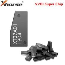 Xhorse vvdi super chip xt27a01 xt27a66, transponder para vvdi2 vvdi mini ferramenta de chave