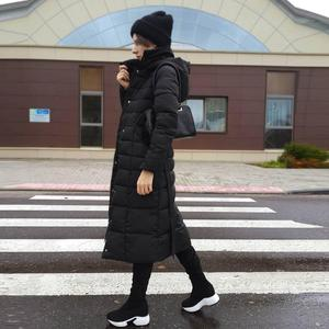 Image 5 - QUTAA 2020 تمتد الأقمشة فوق الركبة أحذية الارتفاع زيادة جولة تو أحذية النساء الخريف الشتاء أحذية طويلة غير رسمية Size34 43
