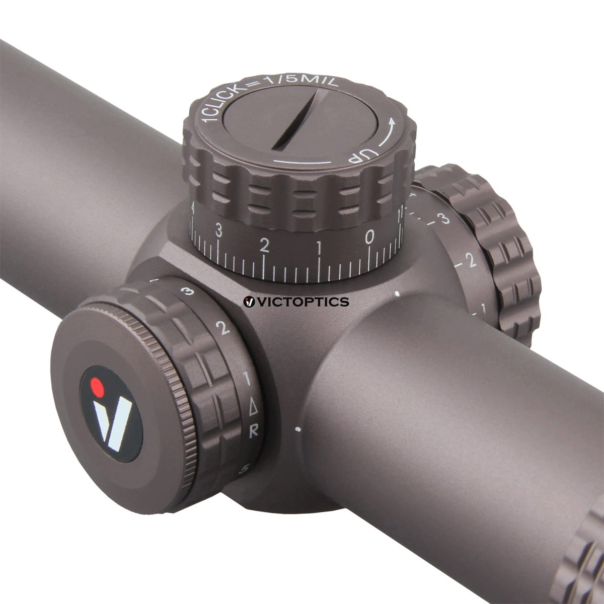 Victoptica – lunette de visée S6 1-6x24 SFP, avec soulagement des yeux et éclairage, réglage 1/5 MIL, compacte, pour AR 15 .223 5.56 5