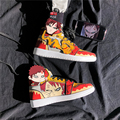 Anime Naruto Canvas Shoes Sasuke Men Vulcanized Shoes Kakashi Sneakers Gaara Madara Pain Cosplay School Outdoor Travel Shoes