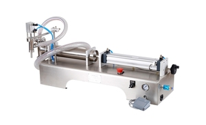 Image 5 - Flüssigkeit Füll Maschine Wasser Pneumatische Kolben Füllstoff Milch Waschmittel Chemische Shampoo Saft Öl Semi Automatische Ejuice Eliquid