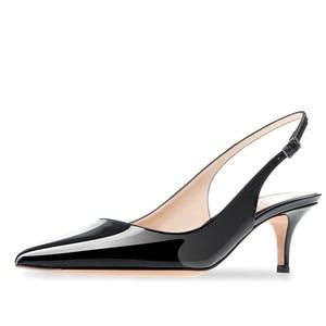 Обувь женские весенние туфли-лодочки на высоком каблуке 6 см обувь большого размера туфли-лодочки из лакированной кожи с острым носком мужс...