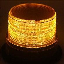 СВЕТОДИОДНЫЙ Автомобильный Предупреждение светильник аварийный светильник лампы желтый строб маяк 12 V-24 V техники безопасности транспортных средств Аварийные огни