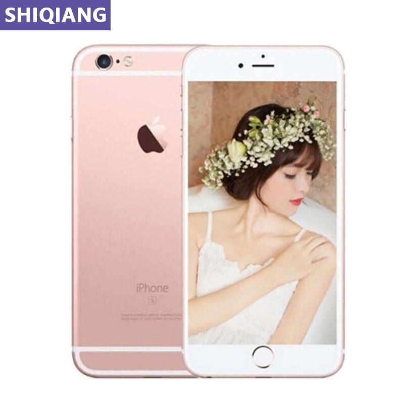 Oryginalne używane telefony komórkowe Apple iphone 6S Plus 5.5in odcisk palca odblokuj 2 + 16/64/128GB GPS i NFC 5 + 12MP 1 karty SIM smartfony A9