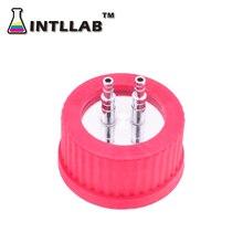 INTLLAB GL крышка винта GL45 крышка(с 316 нержавеющей стали) с PET и 316 нержавеющей стали