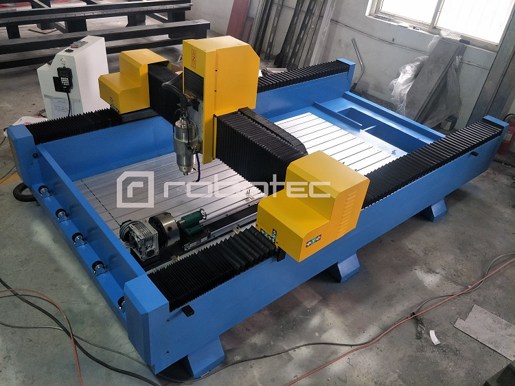 China Manufacturer Stone Cnc Milling Machine Price For Sale/Granite Cnc Router 1325 With Water Table Marble Carving CNC Machine