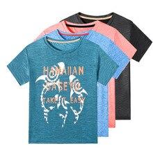 Boys T Shirt 2020 Summer Kids Sport Tops Teen Quick drying Children Clothing Baby Boys Run T-Shirt Short Sleeve Clothes цена 2017
