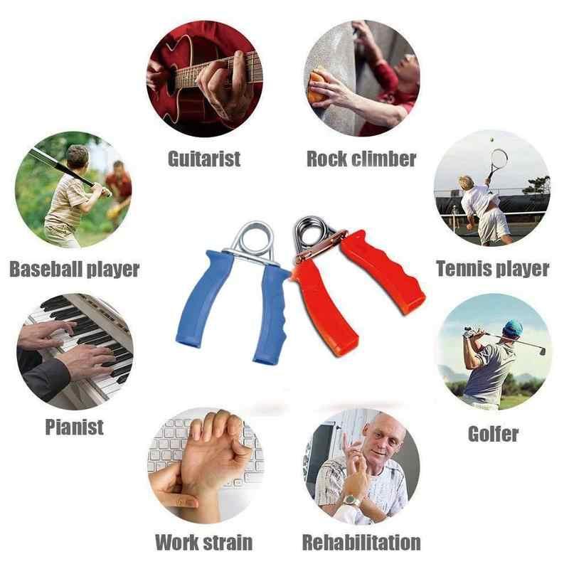 Empuñadura para el antebrazo Strengthener expansor carpiano mano entrenamiento resorte mano agarre dedo fuerza entrenador de dedo Pow ejercitador