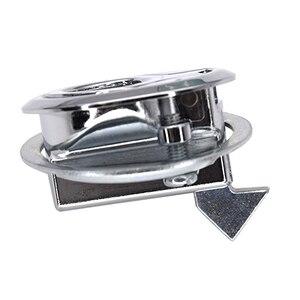 Image 4 - 10pcs 45mm 스테인레스 스틸 해양 보트 플러시 당겨 슬램 래치 마운트 해치 리프트 키없이 RV 보트 요트 해치 도어 잠금 마운트