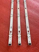 3pcs tira retroiluminação LED para LG 43UJ634V 43LJ624V 43LJ634V 43LJ617T 43UJ701V 43UJ6309 43UJ6307 43UJ670V 43UJ6350 43UJ6500