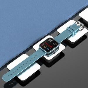Image 5 - Full Screen Touch P8 Smart Horloge Polsbandje Mannen Vrouwen Sport Meer Horloge Gezicht Hartslagmeter Sleep Monitor IP67 Smartwatch