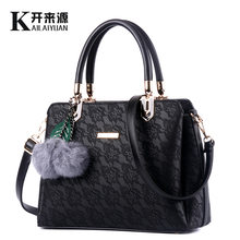 100% Genuine leather Women handbags 2019 Women's bag new bag, female Korean Edition, stylish, sweet fashion bag, shoulder bag.(China)