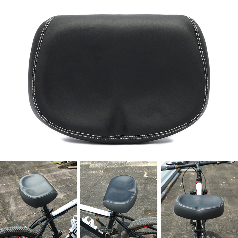 NEW COMFORTABLE ERGONOMIC SOFT LARGE WIDE NON-PRESSURIZED BICYCLE SEAT WITH DOUB