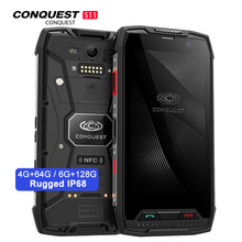 Conquest S11 Original IP68 Rugged Smart Phone 6GB 128GB Octa