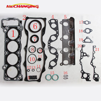 1RZ 1RZ-E For TOYOTA HIACE III 2.0 Engine Parts  Full Set Engine Rebuilding Kits Engine Gasket 04111-75011 50126600