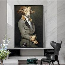 Креативная картина маслом с изображением Эрла козы Картина на