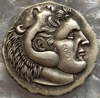 Loại: số 5 Hy Lạp ĐỒNG TIỀN Không Đều Kích thước