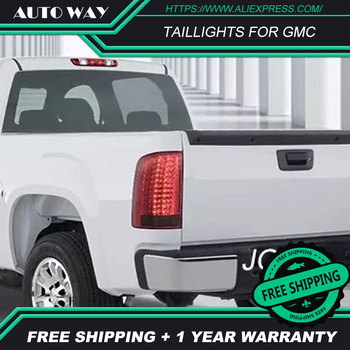 Car Styling for GMC 2000-2007 GMC taillights GMC TAIL Lights LED Tail Light LED Rear Lamp Certa taillight Automobile