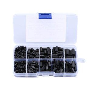 300PCS Black M3 Nylon Standoff