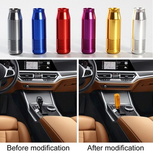 10PCS Universal Car Aluminum Manual Gear Shift Knob Stick Manual Transmission Gearstick Lever Shifter Knob Car-styling
