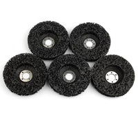 5Pcs Abrasive Tools 115Mm Strip Wheels Paint Rust Removal Clean Angle Grinder Discs Tools For Angle Grinder|광택기 패드|   -