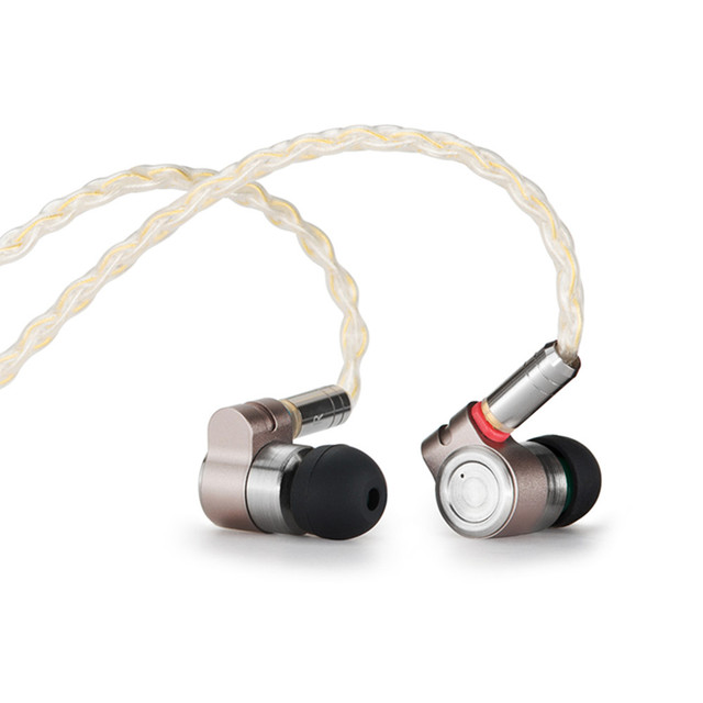 TinHIFI T3 1BA+1DD HIFI Hybrid Driver In Ear Earphone IEM Monitor Earphone Earbud with Gold-plated OFC SPC MMCX Cable T4 P1 T2 2