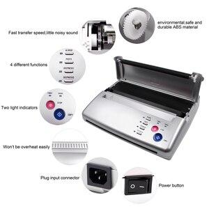 Копировальная машина для татуировок A4, термопринтер для рисования, производитель трафаретов, копировальная машина, углеродистая бумага дл...