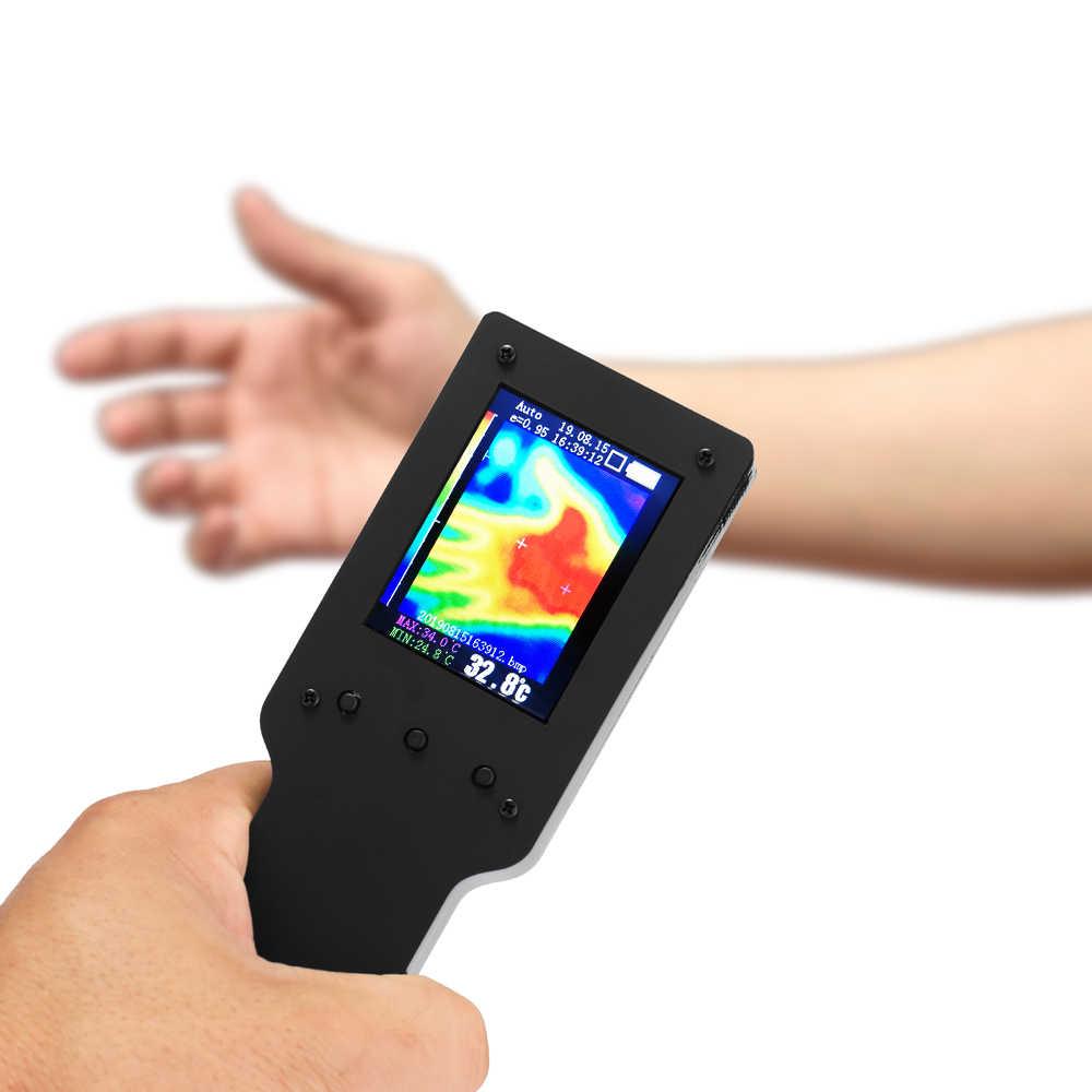 Портативный ручной термометр Инфракрасный Тепловизор камера метеорологической станции 2,4 Inc цифровой термометр с ЖК-дисплеем для измерения