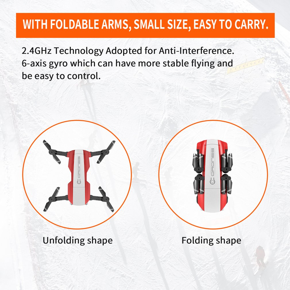 lowest price LAUMOX S17 RC Drone with 4K Adjustable Wide-Angle Camera Foldable Quadcopter Optical Flow Dron RC Helicopter VS X12 SG106 XS816