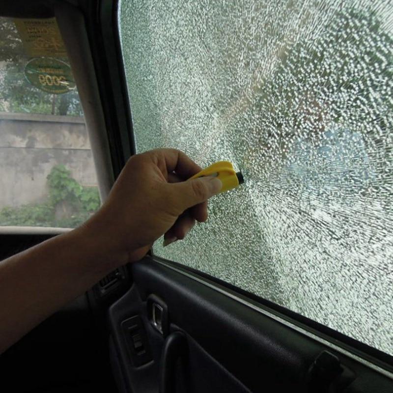 Small Seat Safety Hammer Auto Glass Car Window Breaker Life-Saving Escape Rescue Tool Seatbelt Cutter Key Chain Marteau Hammer