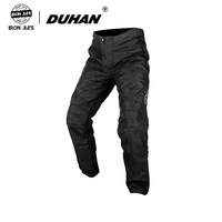 DUHAN Motorcycle Riding Pants Men and Women Rider Racing Set Motorbike Pants Reflect clothing With CE pads Knee Protect