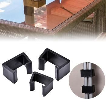Furniture Fasteners Durable Heat Resistant Outdoor Patio Wicker Furniture Clips Chair Couch Clamps image