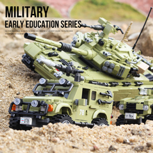 The Military Technic Weapon vehicles truck armored car ww2 building blocks boy toys Bricks Battlefield tank sets With Figures the military technic xingbao new 06042 army theme armored tank building blocks ww2 weapon figures bricks boy s birthday toys