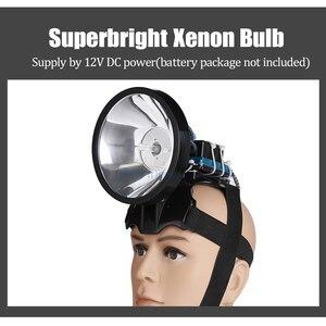 Image 4 - Superbright 12V reflektor 100W Xenon reflektor zewnętrzny DC Power szybki rozruch polowanie lampa wędkarska reflektor