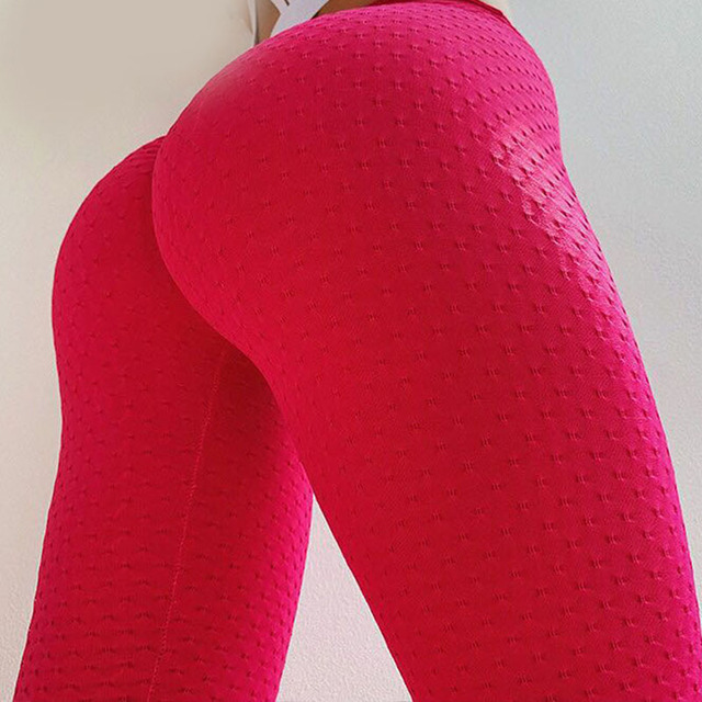 Fitness Leggings Active Wear Neon Solid Print Leggings High Waist Workout Sporty Pants Elastic Green Women Leggings Athleisure 1