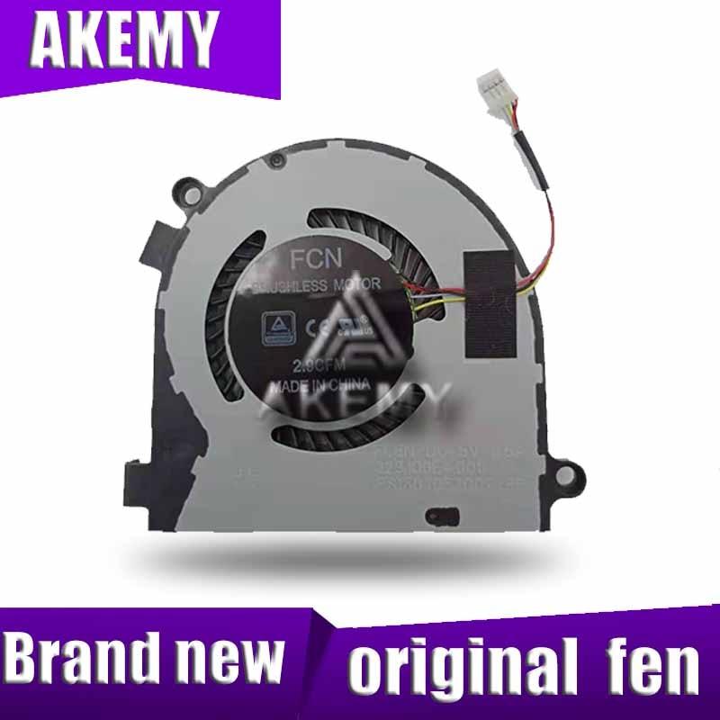 Nouveau original pour HASEE FCN FLGQ DC5V 0.5A DFS601305FQ0T ordinateur portable ventilateur de refroidissement