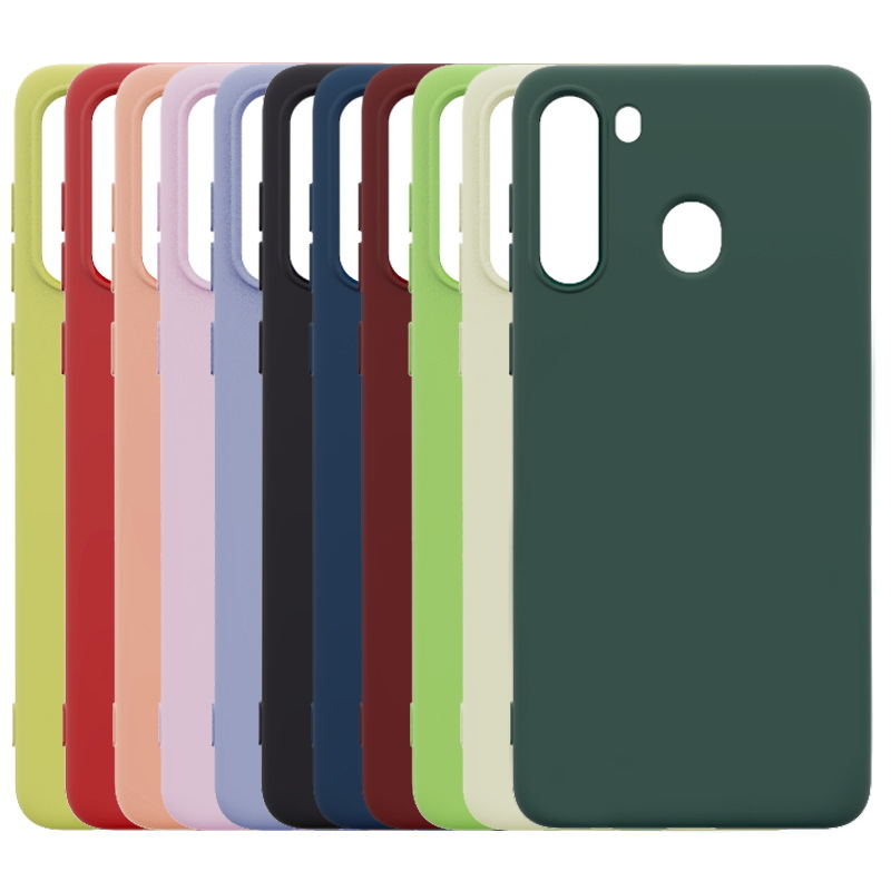 10PCS Lot Wholesale Silicone Mobile Phone Case For SAMSUNG Galaxy A21 A51 A71 M21 M30S M51 Soft Protector Phone shockproof Cover