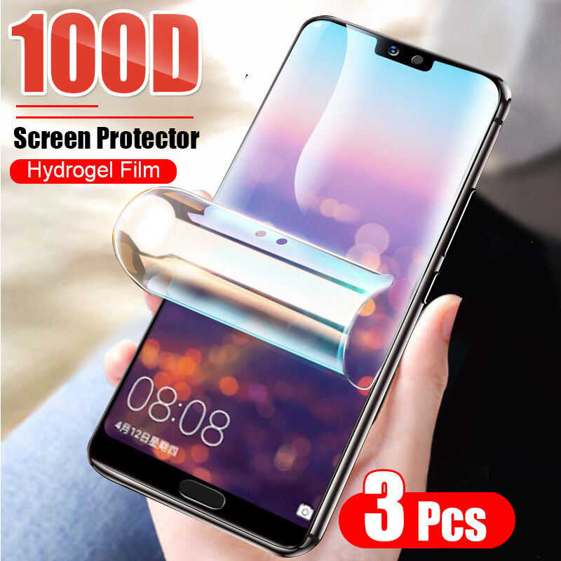 فيلم هيدروجيل واقي لهاتف هواوي هونور 10i 20 P20 P30 P40 Pro Mate 40 Pro 20 Lite P smart 2019 واقي شاشة ليس زجاجي